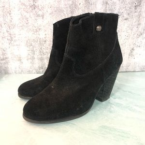 Vince Camuto Hammerton black heeled booties